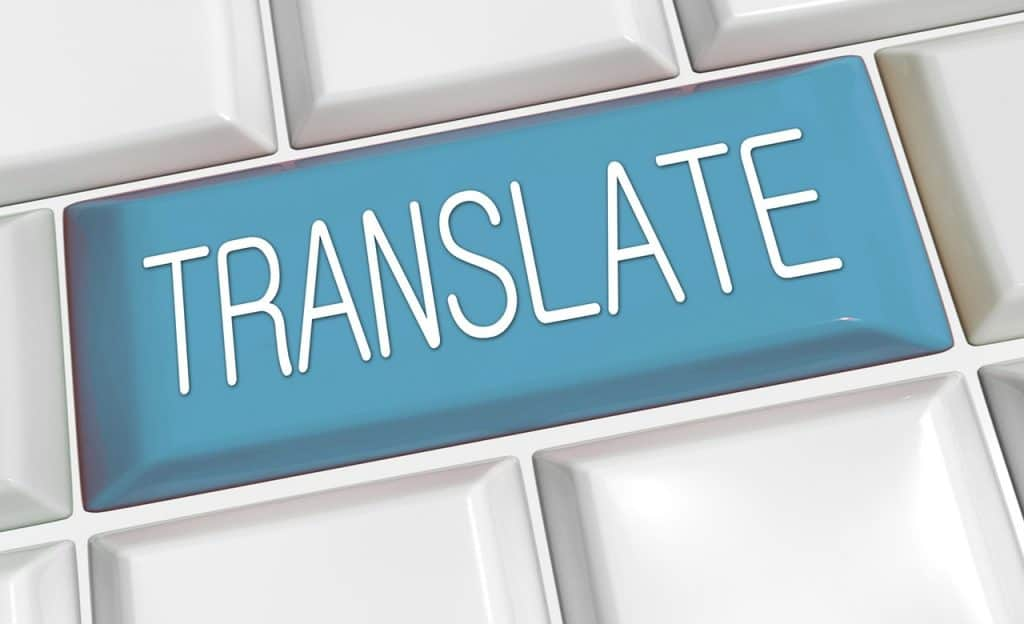 Translation button