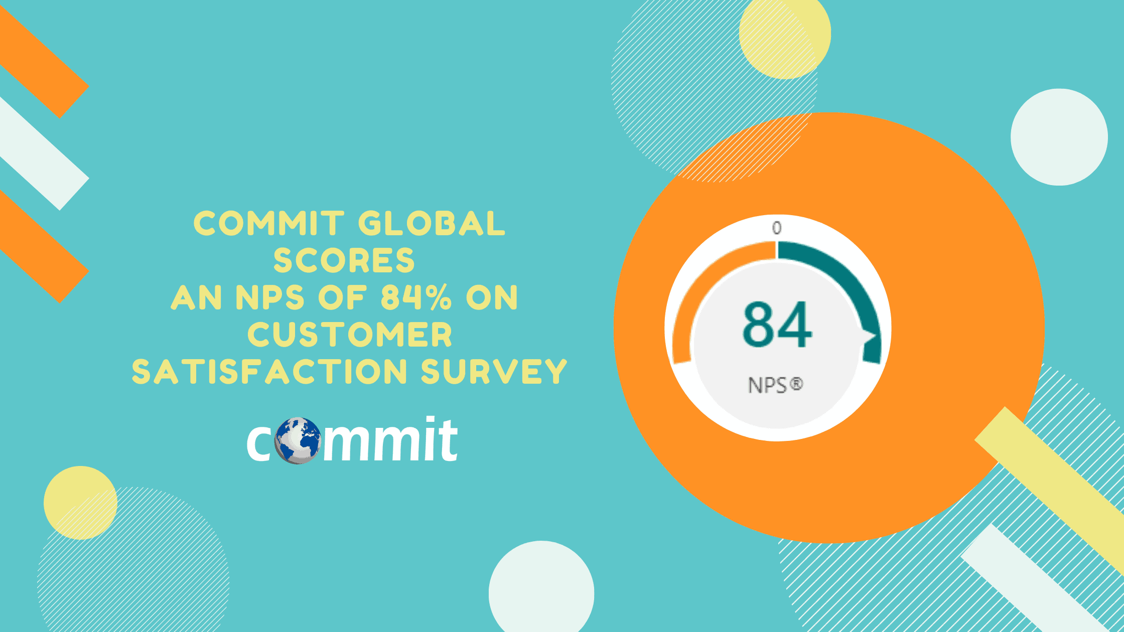 Commit Global Scores an NPS of 84% on Annual Customer Satisfaction Survey