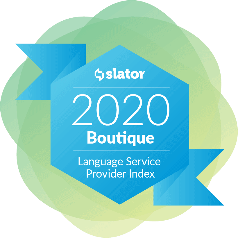 Slator 2020 Boutique LSP