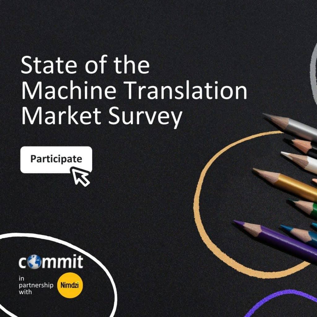 Machine Translation Market Survey