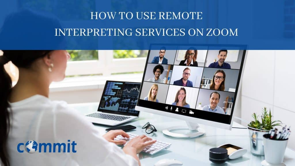 remote interpreting services on zoom