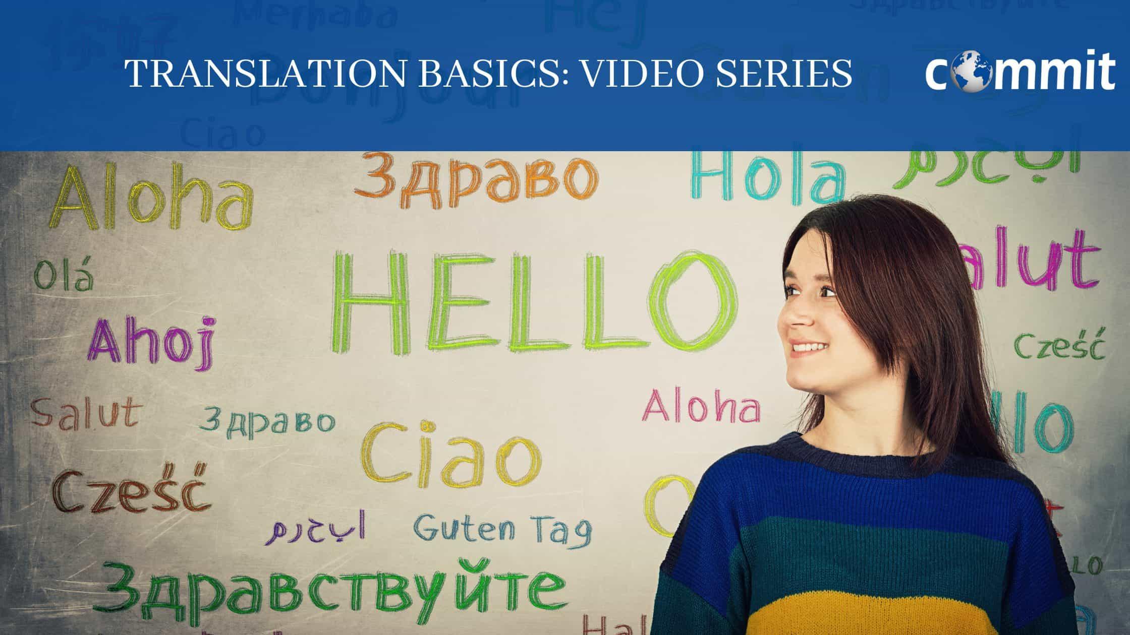 Translation Basics (Video Series)