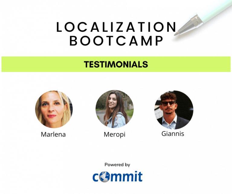 Localization bootcamp testimonials