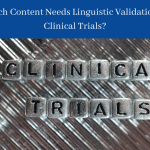 Linguistic Validation in Clinical Trials (1)