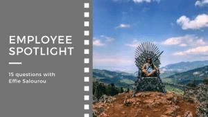 Employee spotlight-Salourou
