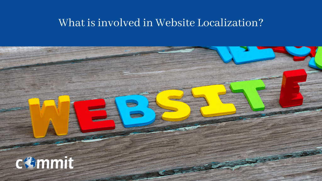 What is involved in Website Localization (1)